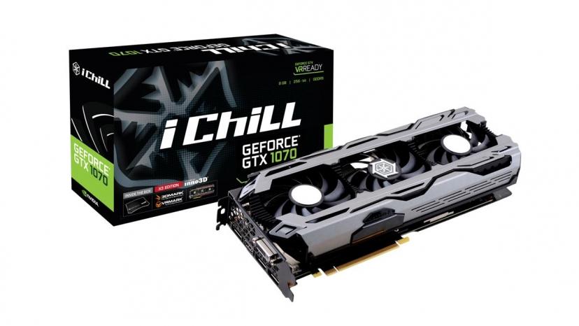 Inno3D N1070-1SDN-P5DNX GeForce GTX 1070 8GB GDDR5 graphics card