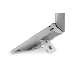 "BakkerElkhuizen ProStand Notebook stand Silver 33 cm (13"")"