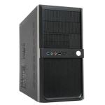 CIT Shade Micro Black Interior 500W 120mm Black Psu USB3 Port