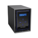 Netgear ReadyNAS 422 Ethernet LAN Desktop Black NAS