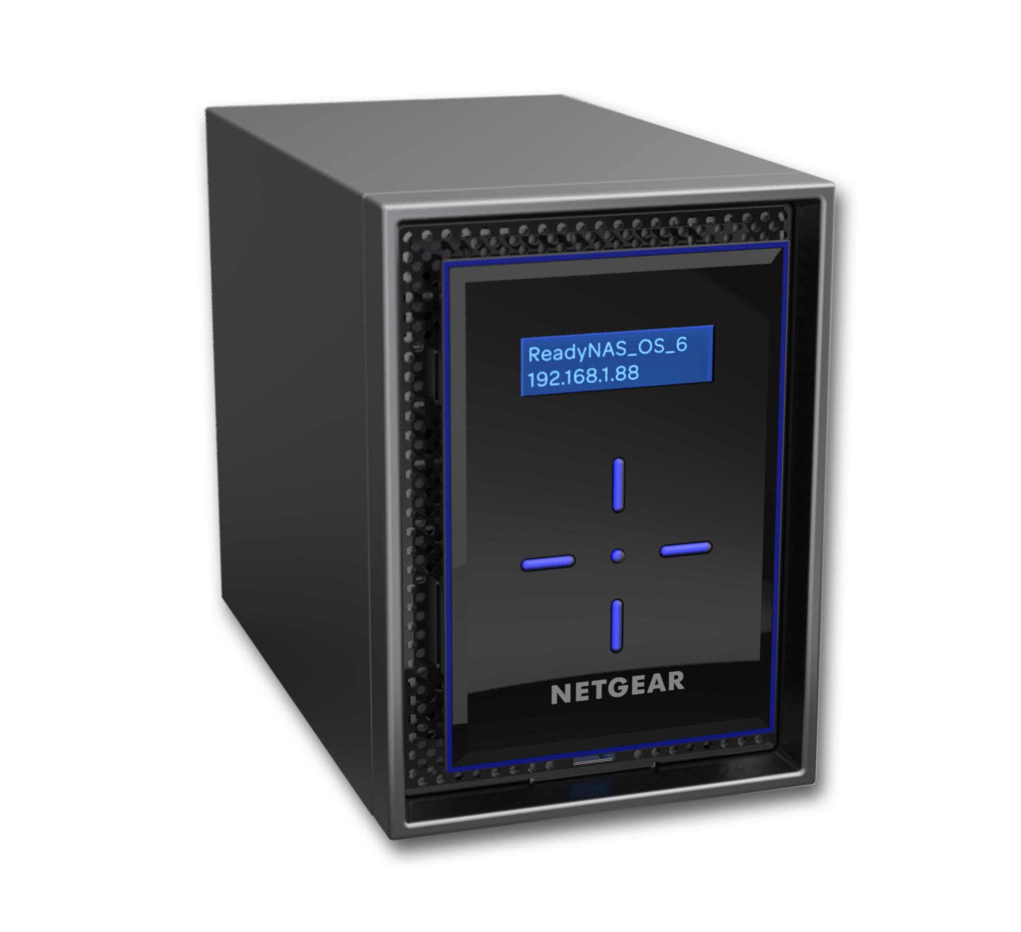 Netgear ReadyNAS 422 C3338 Ethernet Escritorio Negro NAS