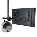 """StarTech.com FLATPNLCEIL signage display mount 75"""" Black"""