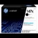 HP LaserJet Cartucho de tóner Original 147X negro de alta capacidad