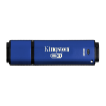 Kingston Technology Vault Privacy 3.0 Anti-Virus 8GB USB flash drive USB Type-A 3.0 (3.1 Gen 1) Blauw