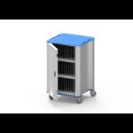 NUWCO PlasCart Portable device management cart Blue, Grey