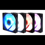 Scythe Kaze Flex 92 Slim RGB PWM Computer case Cooler 9.2 cm Black, White