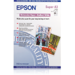 Epson WaterColor Paper - Radiant White, DIN A3+, 190g/m², 20 Sheets printing paper