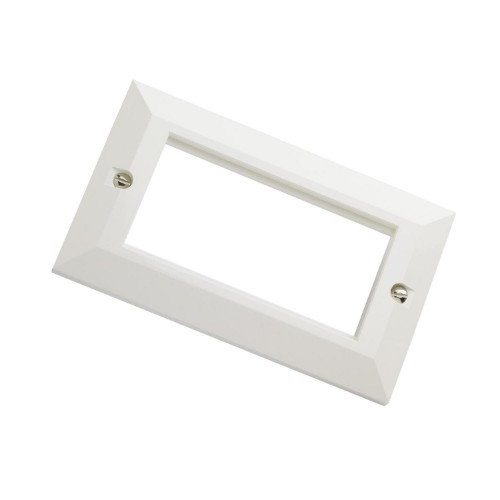 EXCEL 100-716 White wall plate/switch cover