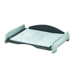 Fellowes 8031701 Plastic Black,Silver desk tray