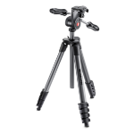 Manfrotto MKCOMPACTADV-BK Digital/film cameras Black tripodZZZZZ], MKCOMPACTADV-BK