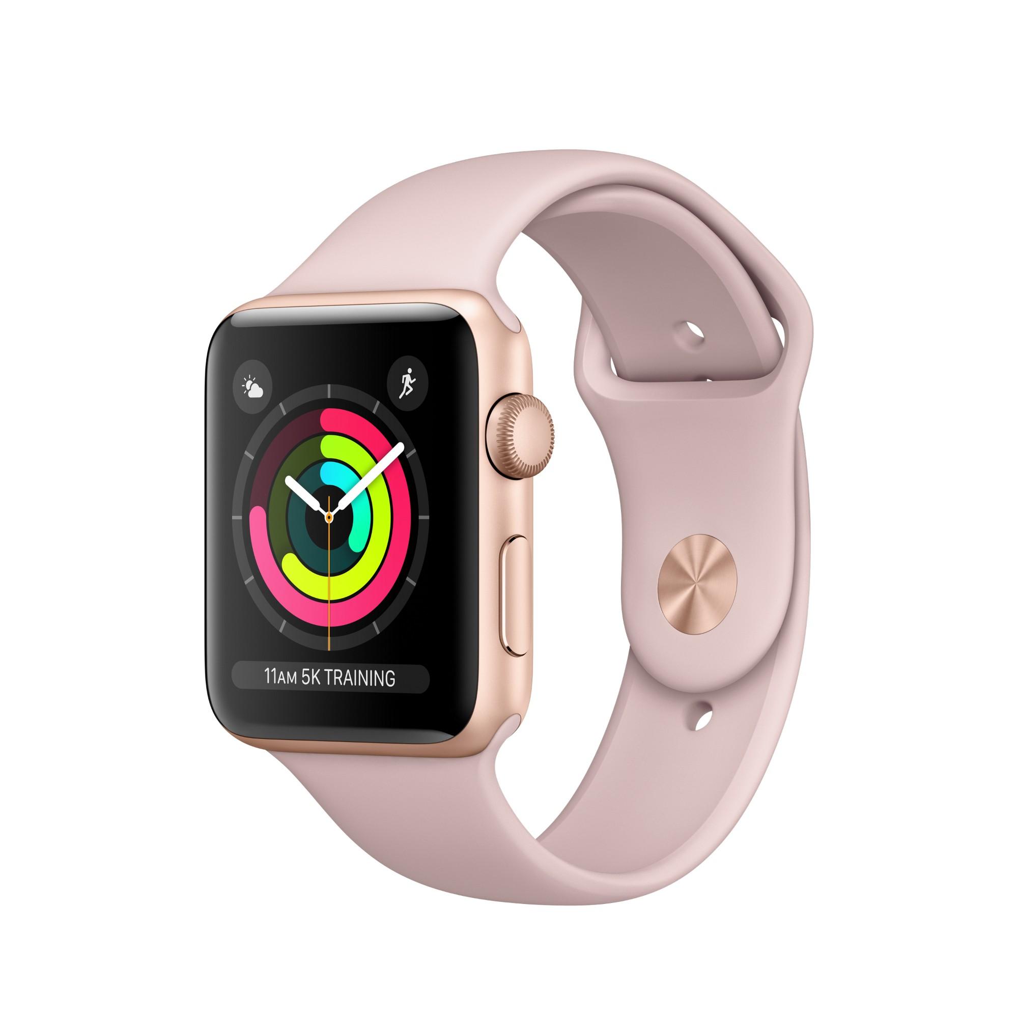 Apple Watch Series 3 OLED GPS (satellite) Gold smartwatch