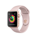 Apple Watch Series 3 OLED GPS (satellite) Gold smartwatch