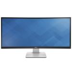 "DELL UltraSharp U3415W computer monitor 86.4 cm (34"") Wide Quad HD LED Curved Matt Black"