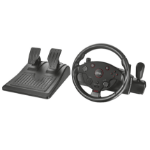 Trust GXT 288 Wheel + Pedals PC,Playstation 3 Black