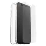 OtterBox Clearly Protected Skin + Alpha Glass Series for Apple iPhone 11, transparent