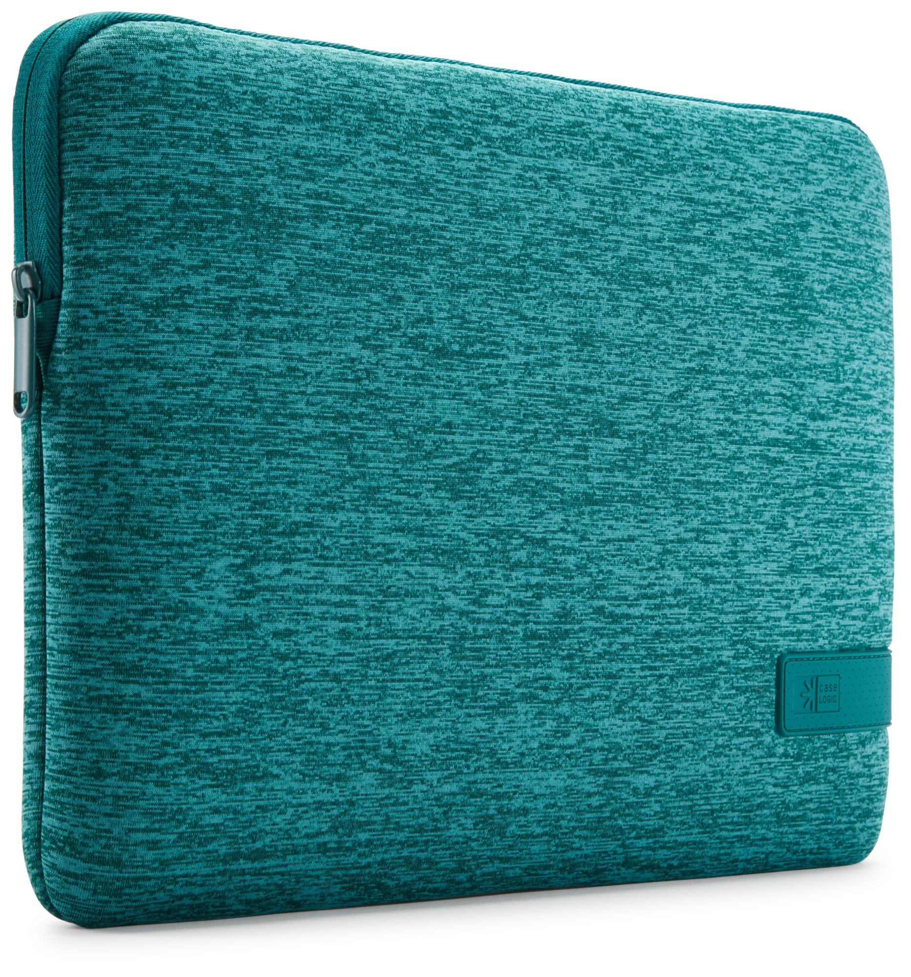 "Case Logic Reflect notebooktas 35,6 cm (14"") Opbergmap/sleeve Turkoois"