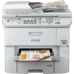 Epson WorkForce Pro WF-6590DWF A4 Colour Inkjet Wireless Multifunction Printer
