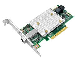 Microsemi SmartHBA 2100-4i4e interfacekaart/-adapter Mini-SAS HD Intern