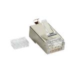 Black Box FMTP6S-10PAK wire connector RJ-45 Transparent