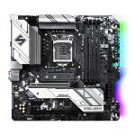 Asrock B460M STEEL LEGEND Intel B460 1200 Micro ATX 4 DDR4 HDMI DP XFire 2.5GB LAN RGB Lighting M.2