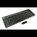 2-Power KEY1004UK RF Wireless QWERTY UK English Black keyboard