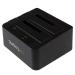 StarTech.com Base de Conexión USB 3.1 (10Gbps) con UAS de 2 Bahías para Disco Duro o SSD SATA de 2,5 o 3,5 Pulgadas