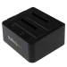 "StarTech.com USB 3.1 Gen 2 (10Gbps) dual-bay dock for 2.5""/3.5"" SATA SSD/HDDs"