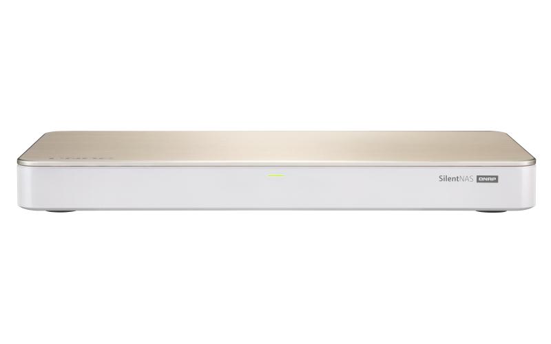 QNAP HS-453DX Ethernet LAN Tower Gold,White NAS