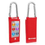 TheSnugg B00HQI0PBI Red MP3/MP4 player case