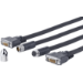 VivoLink PRODVICW20 DVI cable 20 m DVI-D Black