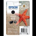 Epson C13T03U14010 (603) Ink cartridge black, 150 pages, 3ml