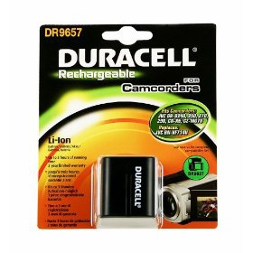 Duracell Camcorder Battery 7.4v 1540mAh Lithium-Ion (Li-Ion) 1540mAh 7.4V rechargeable battery