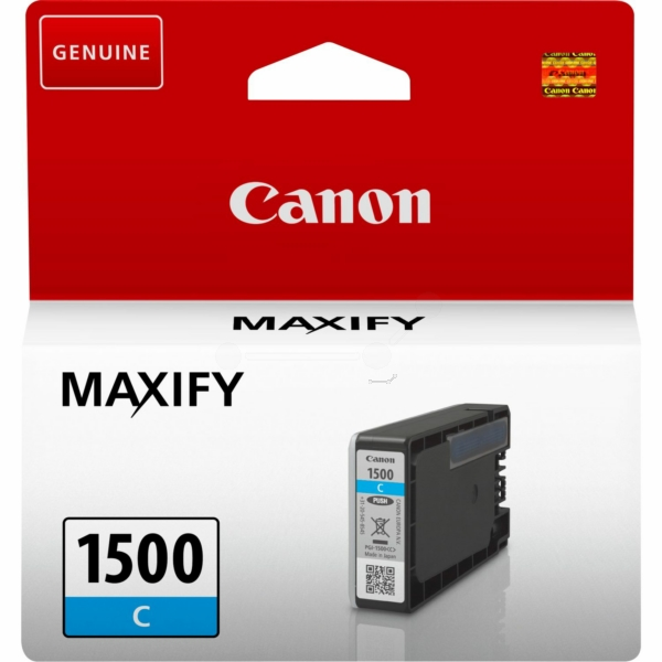 Canon 9229B001 (PGI-1500 C) Ink cartridge cyan, 300 pages, 5ml
