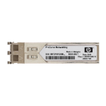 Hewlett Packard Enterprise X130 10G XFP LC LR Single Mode 10km 1310nm 10000Mbit/s XFP 1310nm Single-mode network transceiver module