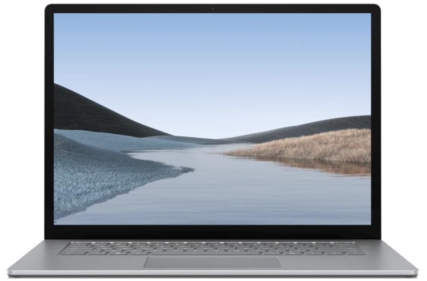 "Microsoft Surface Laptop 3 Platina Notebook 38,1 cm (15"") 2496 x 1664 Pixels Touchscreen Intel® 10e generatie Core™ i5 8 GB LPDDR4x-SDRAM 128 GB SSD Windows 10 Pro"