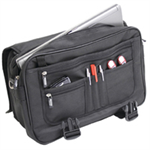 MONOLITH EXPANDABLE BRIEFCASE BLACK 2933