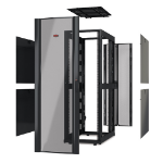 APC AR3100X609 Black rack