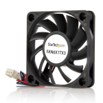 StarTech.com 60x10mm Replacement Ball Bearing Computer Case Fan w/ TX3 Connector FAN6X1TX3