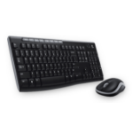 Logitech MK270 RF Wireless Greek Black