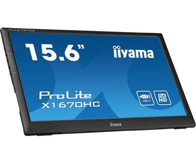 iiyama ProLite X1670HC-B1 computer monitor 39.6 cm (15.6
