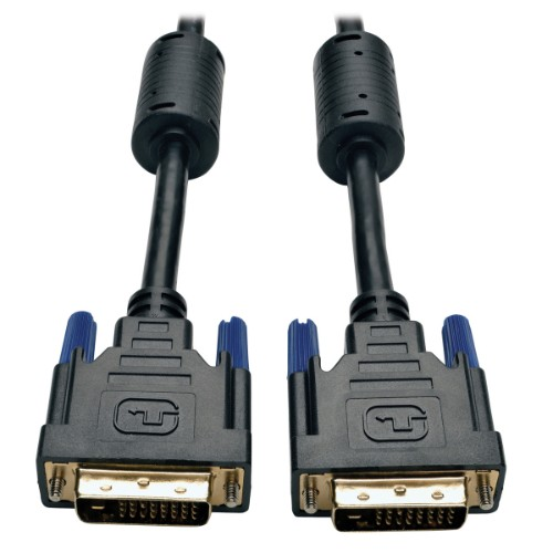 Tripp Lite DVI Dual Link Cable, Digital TMDS Monitor Cable (DVI-D M/M), 4.57 m (15-ft.)