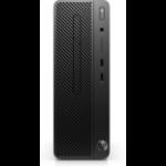 HP 290 G1 8th gen Intel® Core™ i3 i3-8100 4 GB DDR4-SDRAM 128 GB SSD Black SFF PC
