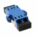 AMP 6457567-4 LC Blue fiber optic adapter