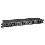 Tripp Lite PDUBHV101U power distribution unit (PDU) 6 AC outlet(s) 1U Black