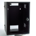 Videk SoHo 8u Black Wall Cabinet Wall mounted Black rack