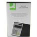 Q-CONNECT KF01603 Pocket Basic Black, Grey, White calculator
