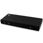 V7 UCDDS-1E notebook dock & poortreplicator USB 3.0 (3.1 Gen 1) Type-C Zwart