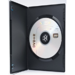 Ednet 10 DVD Slim Single Box 1 discs Black