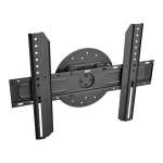 """Tripp Lite Portrait/Landscape Rotatable Fixed Flat-Screen Wall Mount for 37"""" to 70"""" TVs and Monitors"""