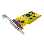 Sunix PAR5008R PCI 1-Port Remappable Parallel IEEE1284 Card